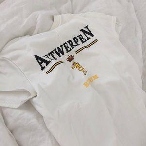 Tops - Antwerpen Belgium Tee White